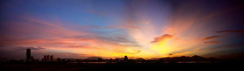 Mây chiều Đà Nẵng