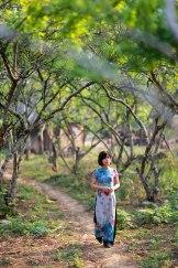 Vườn đào Thung Cuông