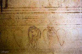 Những bức họa tại một ngôi chùa cổ
